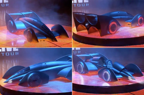 Batmobile Rotation