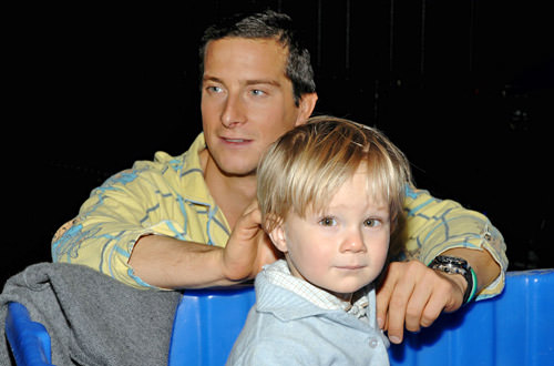 Bear Grylls and Marmaduke