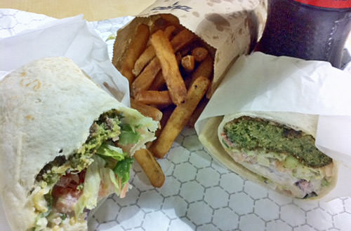 BenjYehuda Falafel and Fries