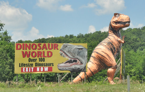 Billboard Dino