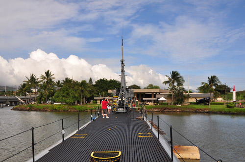USS Bowfin On Deck