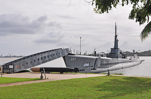 USS Bowfin Exterior