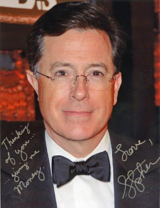 Colbert Super PAC Autograph