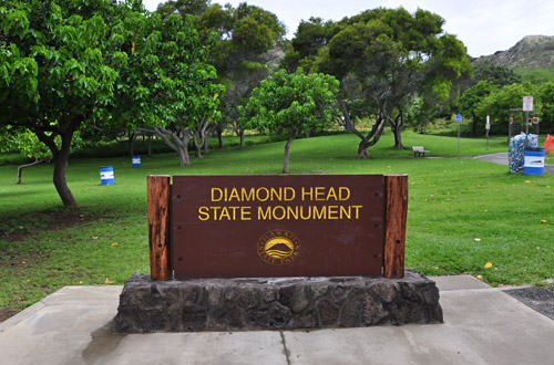Diamond Head Sign