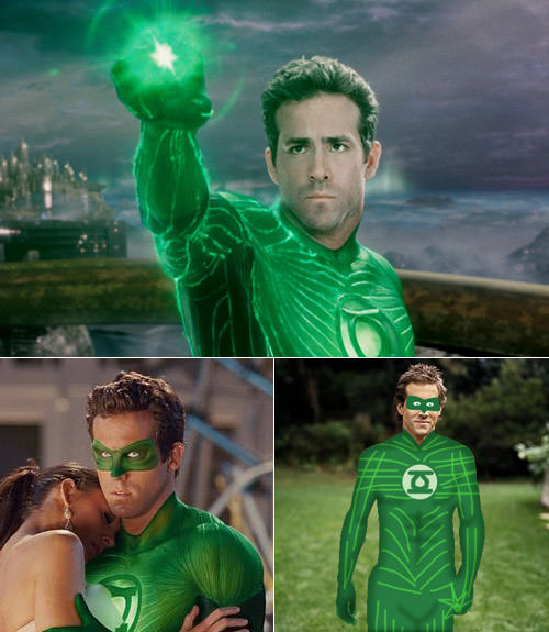 Green Lantern Shitty Uniform