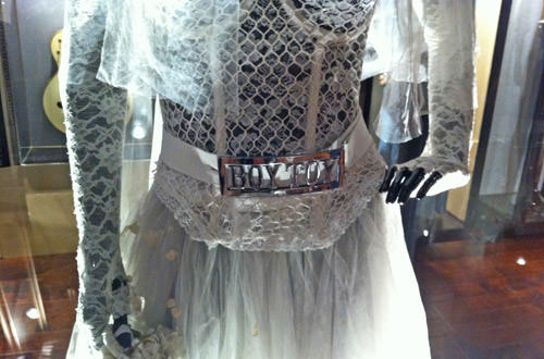 Madonna's Boy Toy Wedding Dress