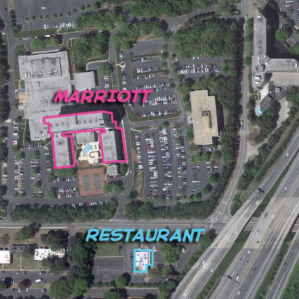 Marriott Entrapment Map