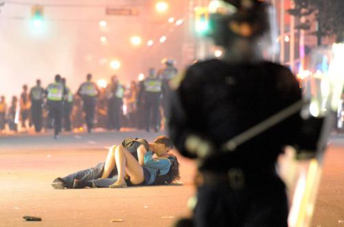 Vancouver Riot Kissers