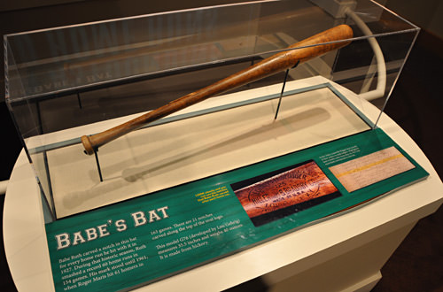 Slugger Museum Bat