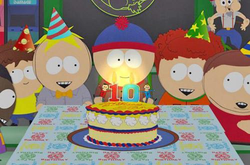 South Park Stan's 10th Birthday