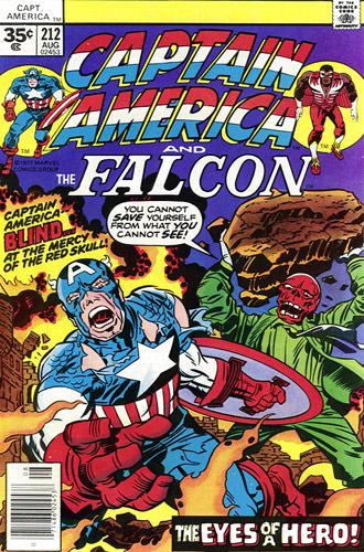 Captain America #212