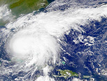 Hurricane Irene Sattelite Photo
