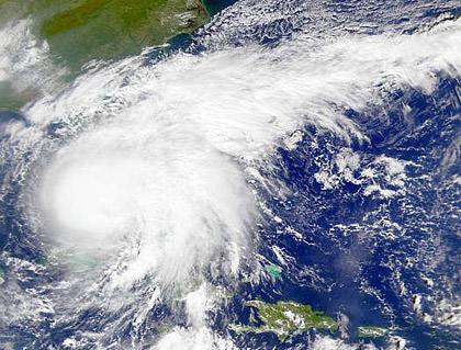 Hurricane Irene Sattelite Photo