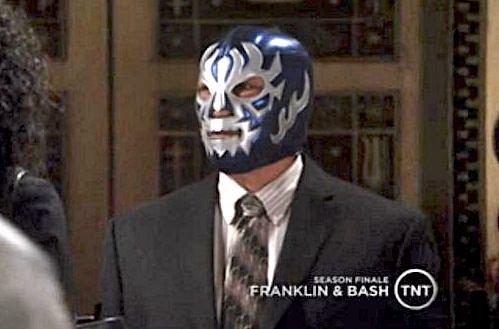 Mystery Wrestler on Franklin & Bash!