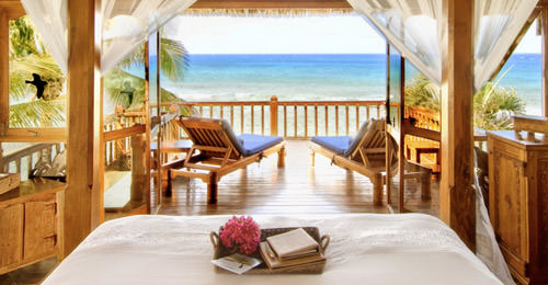 Necker Island Window View