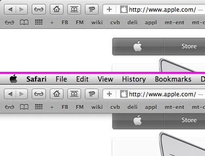 MacOS X Lion Full-Screen