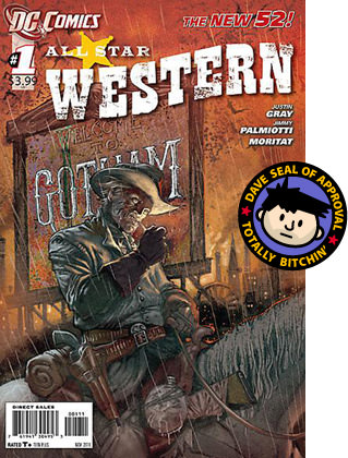 DAVE APPROVED: All-Star Western Cover