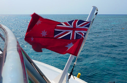 Aussie Red Ensign Flag