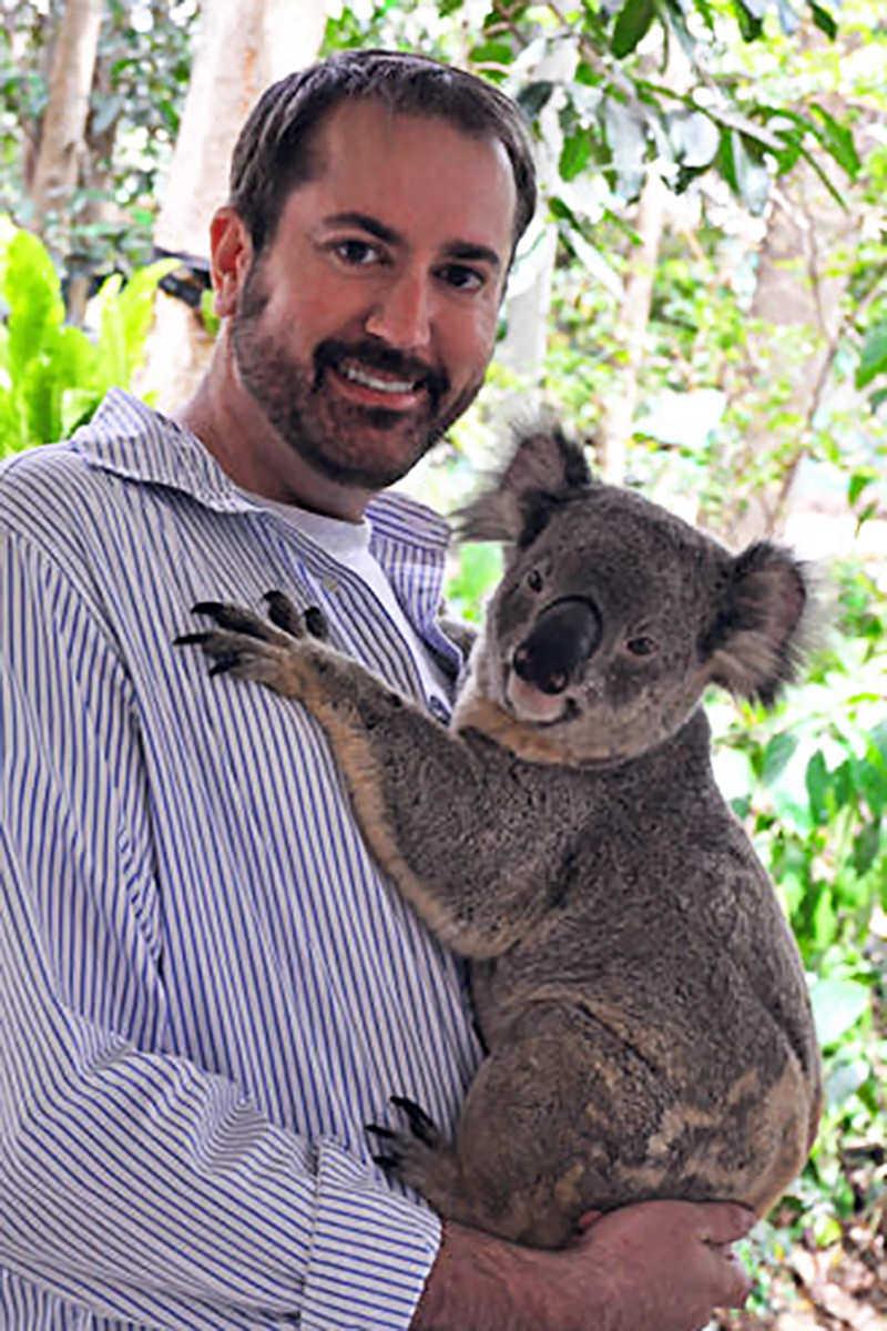 Dave2 Holds a Koala