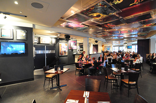 Hard Rock Cafe Sydney Spaces