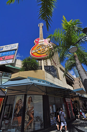 Hard Rock Surfers Paradise Guitar