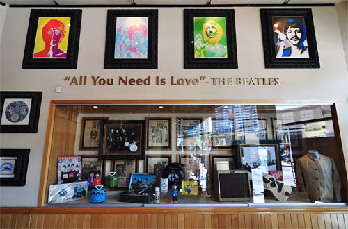 Hard Rock Surfers Paradise Beatles Shrine