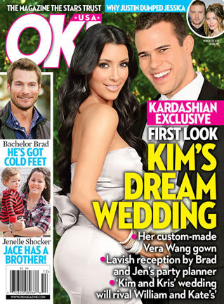 Kardashian OK! Magazine Cover