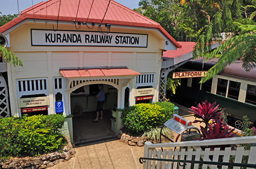 Kuranda Rail Station