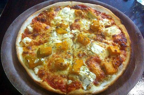 Pumkin Feta Pizza