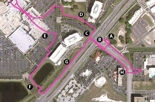 Tampa Hostile To Pedestrians