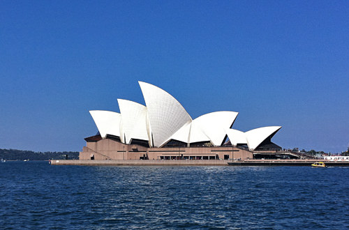 Sydney Opera House via iPhone