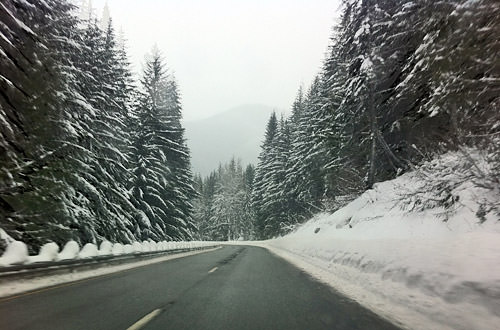 Snowy Mountain Passes
