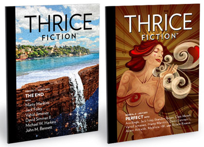 Thrice Fiction Mags!