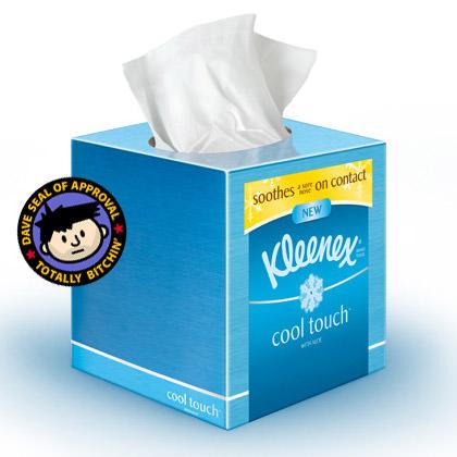 Cool Touch Kleenex