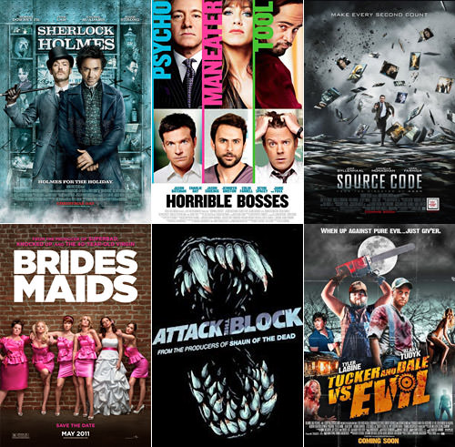 Dave's Favorite Movies 2011: 7-12
