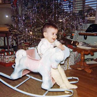 Davy at Christmas