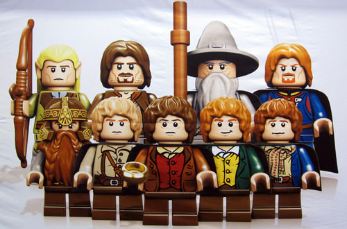 LEGO Hobbits from Lord of the Rings