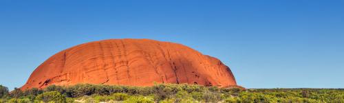 Uluru Pano Photo
