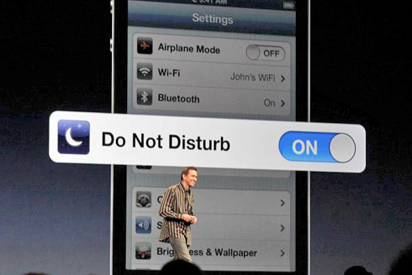 Do Not Disturb on iPhone!