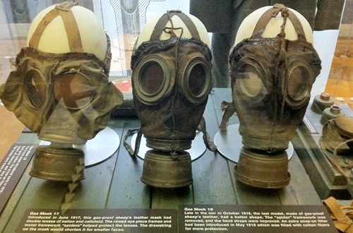 Exhibit Hall Gas Masks