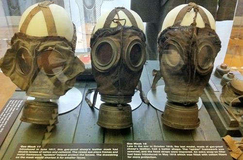 Exhibit Hall Gas Masks