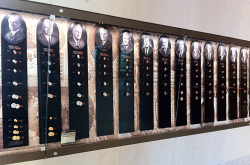 Federal Reserve Presidential Coin Collection