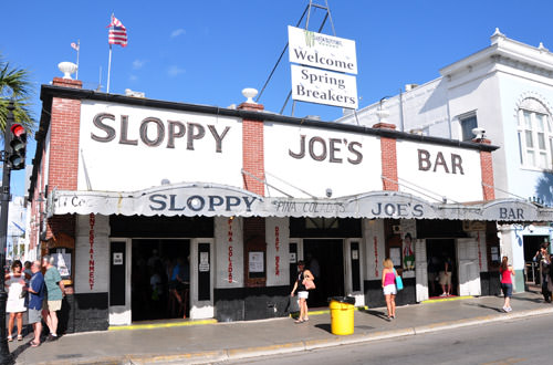 Slopy Joe's Bar in Key West