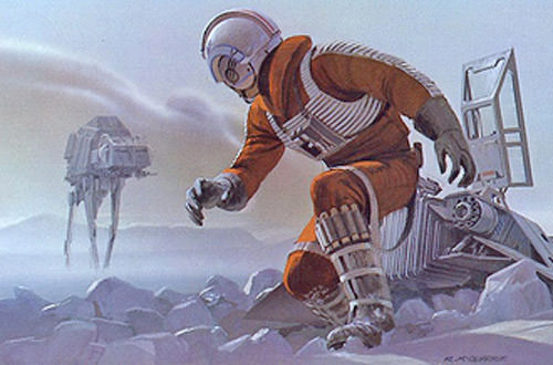McQuarrie Imperial Walkers and Speeders