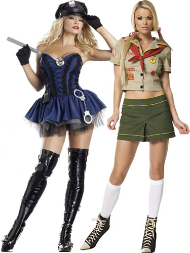 Sexy Police and Girl Scout Uniforms