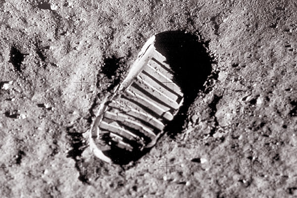 Neil Armstrong Footprint