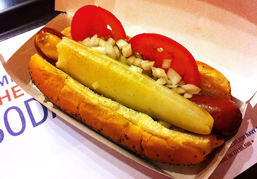 Chicago Veggie Dog