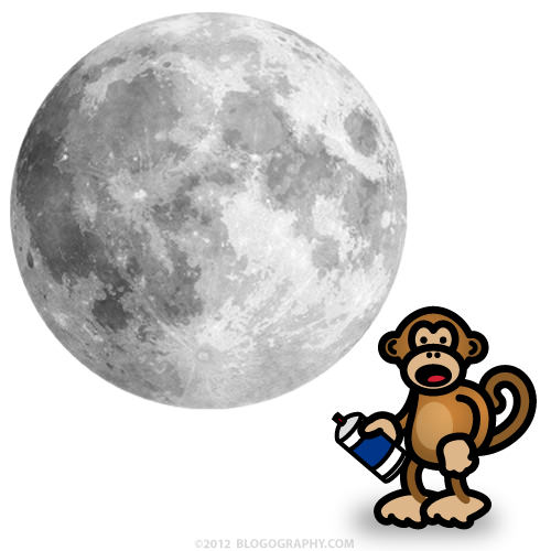 Bad Monkey and a Full Moon