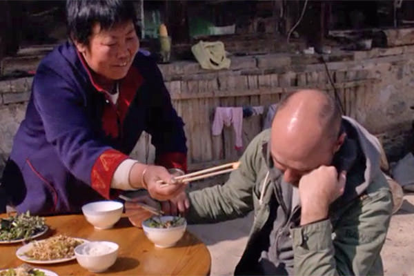 Karl is Forced to Eat Something Awful in China