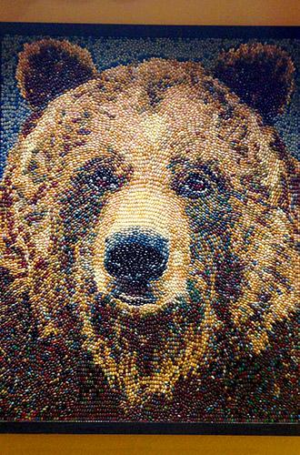 Jelly Bean Bear Portrait